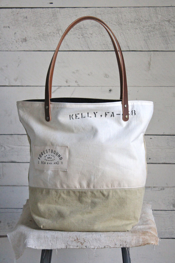 WWII era Canvas Tote Bag