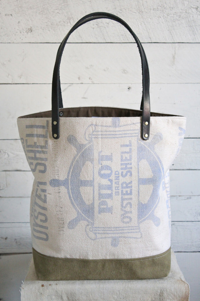 1950's era Canvas Tote Bag