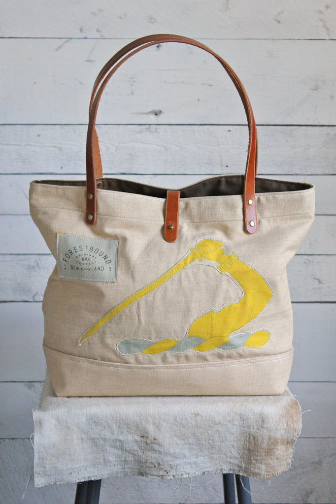 1930's era Canvas Banner Tote Bag
