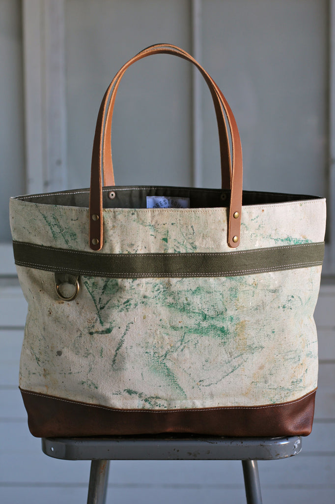1940's era Painter's Apron Carryall