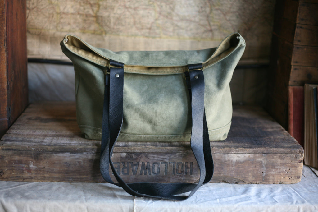 WWII era Canvas Carryall - SOLD