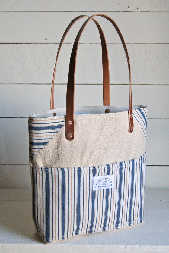 1940's era Canvas Pocket Tote