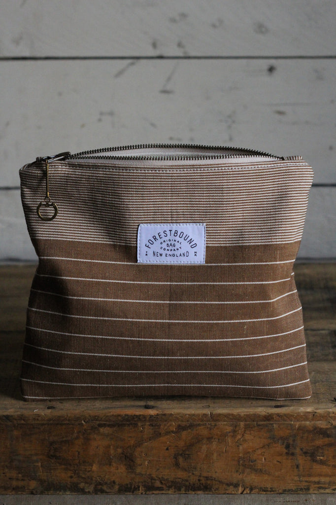 Deadstock Striped Utility Pouch