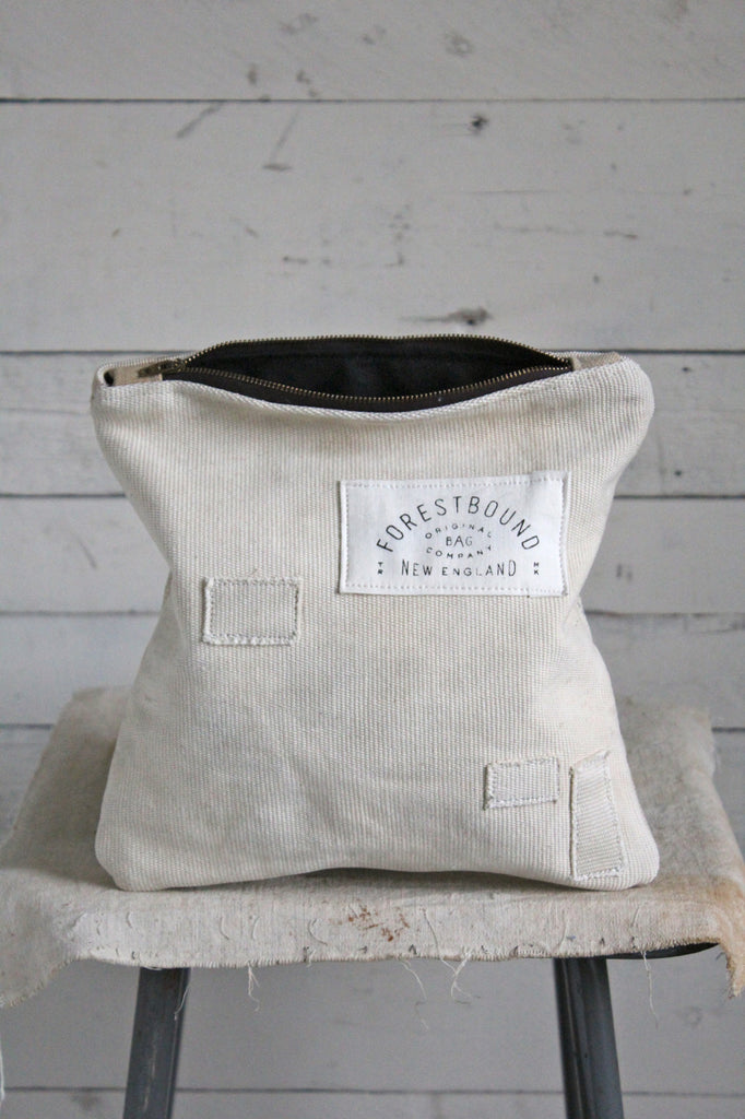 WWII era Patched Sea Bag Utility Pouch