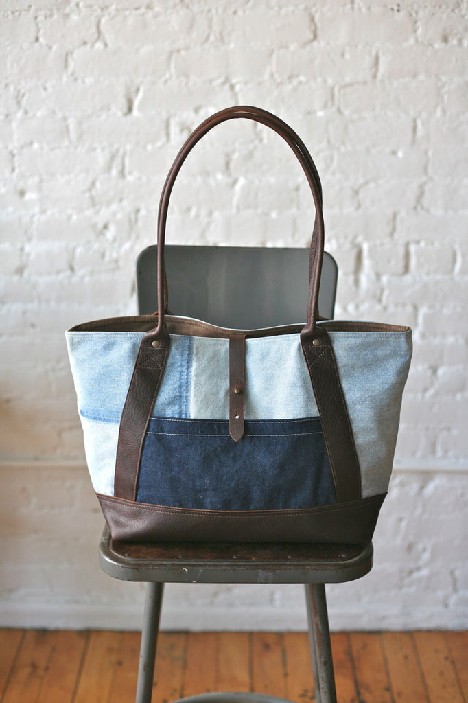 1950s era Double Denim Carryall