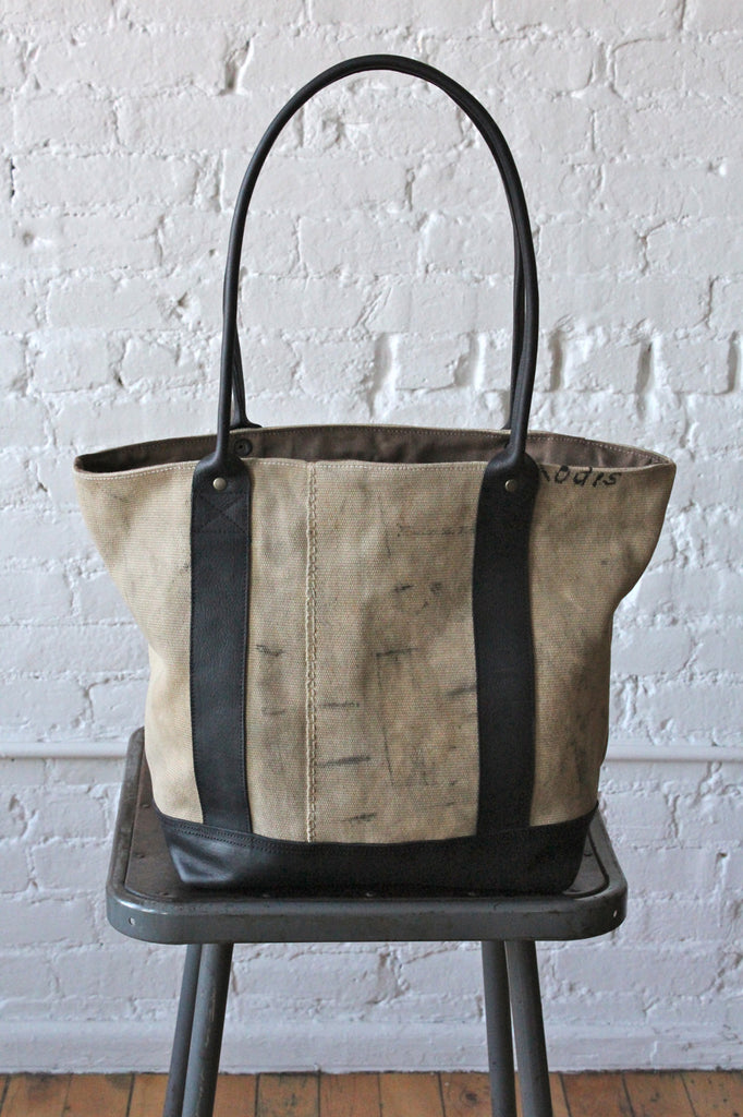 WWII era US Navy Sea Bag Canvas Carryall