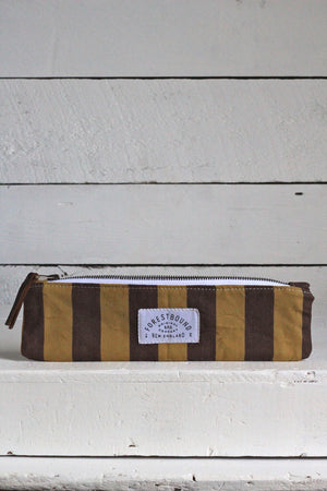 1940's era Striped Canvas Utility Pouch