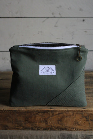 WWII era Canvas Pocket Utility Pouch