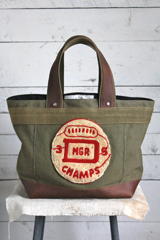 WWII era D Champs Canvas Carryall