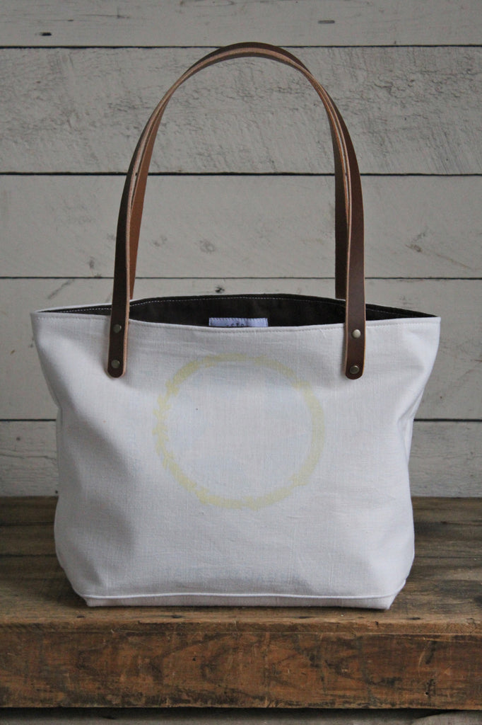 1940's era Subtle Star Tote Bag