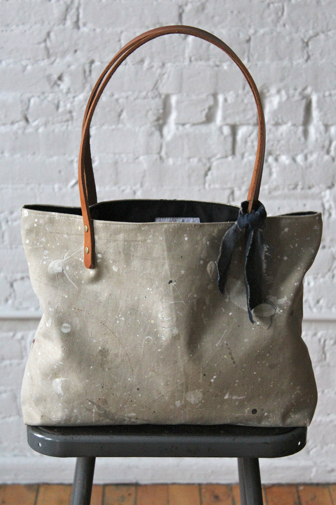 Painter's Drop Cloth Tote Bag