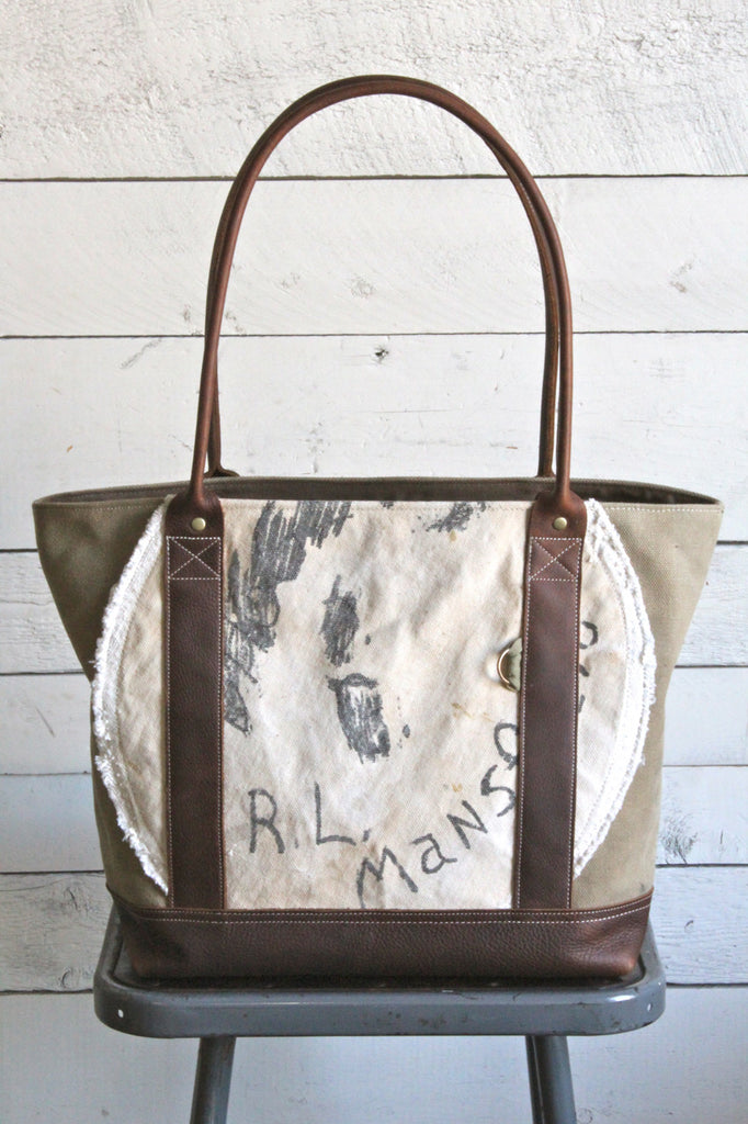 WWII era USN Canvas Carryall