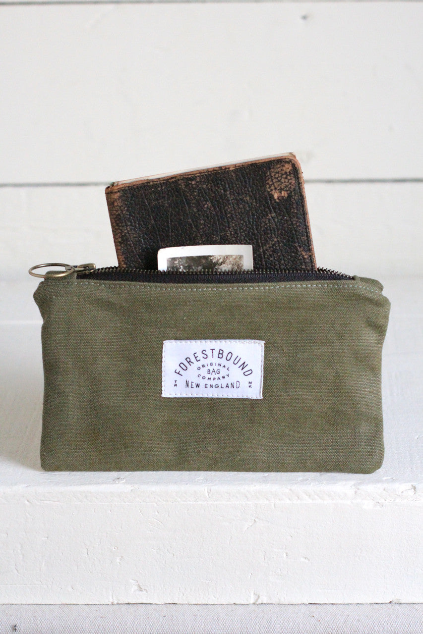 WWII era Canvas Utility Pouch