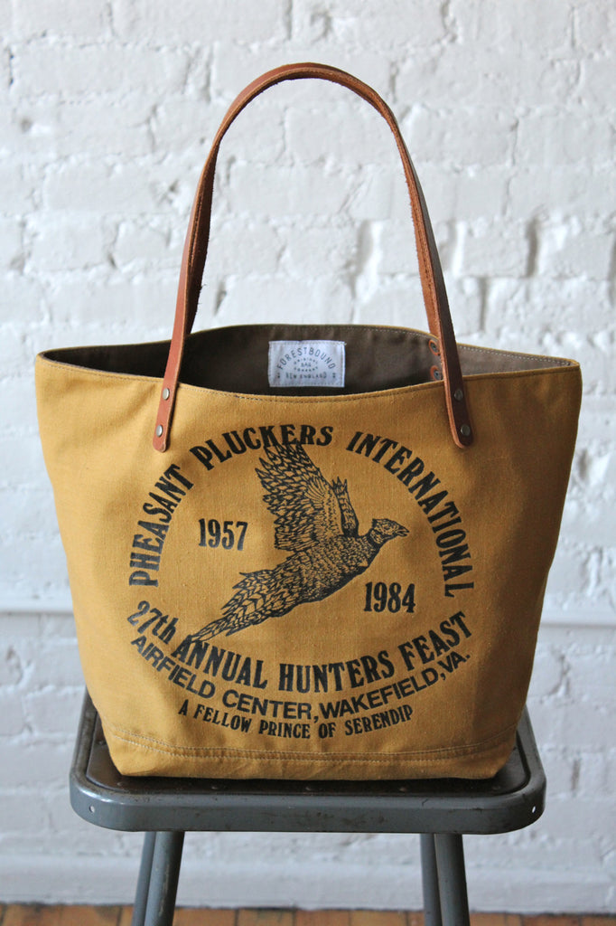 Pheasant Hunter's Apron Tote Bag