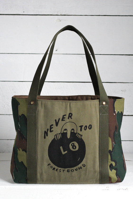 Forestbound Printed Jigsaw Camo Carryall
