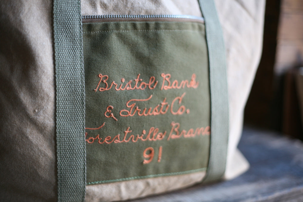 WWII era Canvas Weekend Bag - SOLD