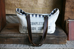 1960's era Cotton Tote Bag - SOLD