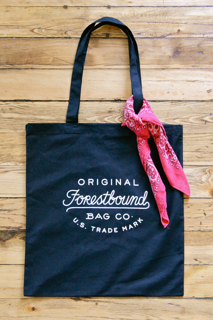 Forestbound Logo Cotton Tote Bag