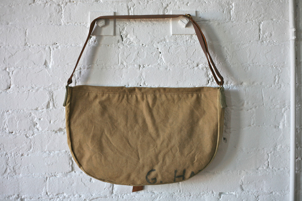 WWII era Canvas Shoulder Bag - SOLD