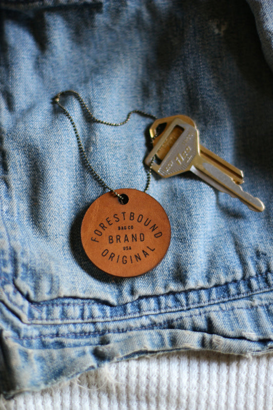 FORESTBOUND Leather Key Chain