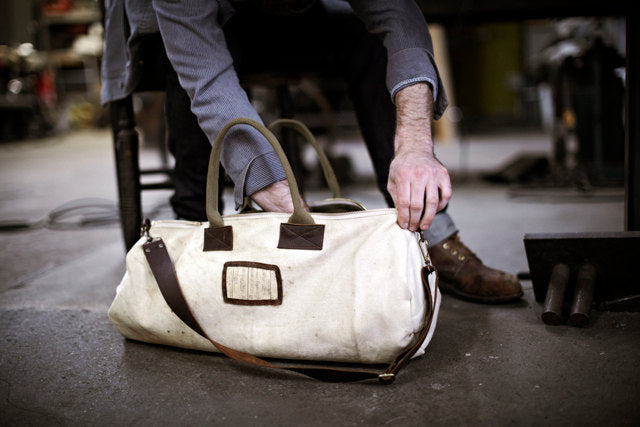 Men's WWII Canvas Duffel Bag
