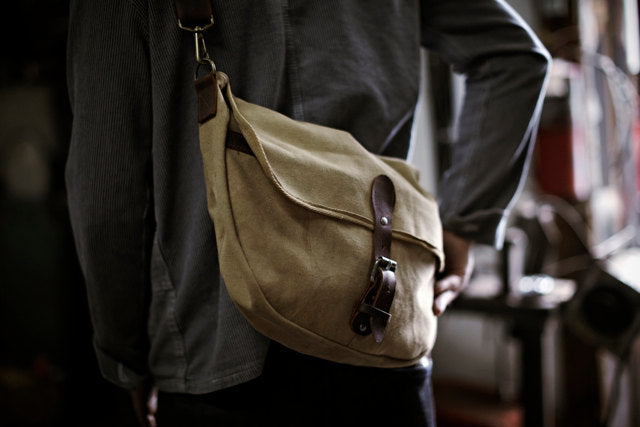 dfe0c28504 Men s WWII Canvas Shoulder Bag
