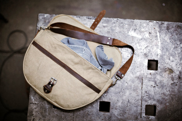 Men's WWII Canvas Shoulder Bag
