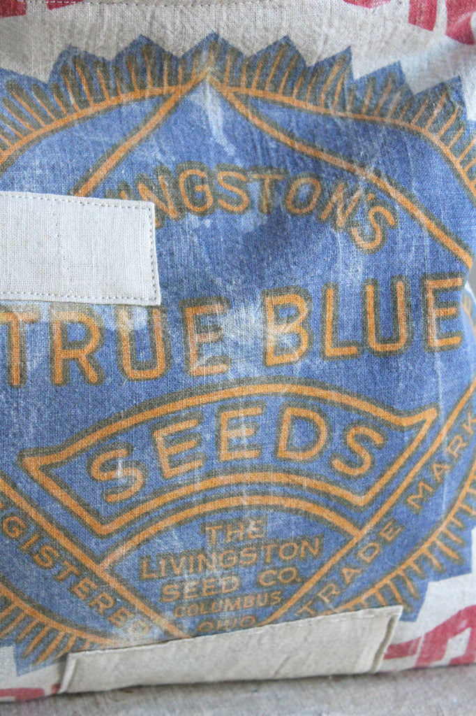 1940's era True Blue Seeds Extra Large Utility Pouch