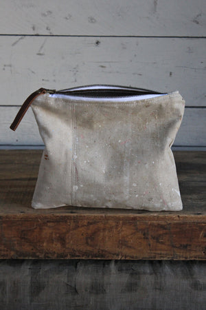 Painter's Drop Cloth Utility Pouch