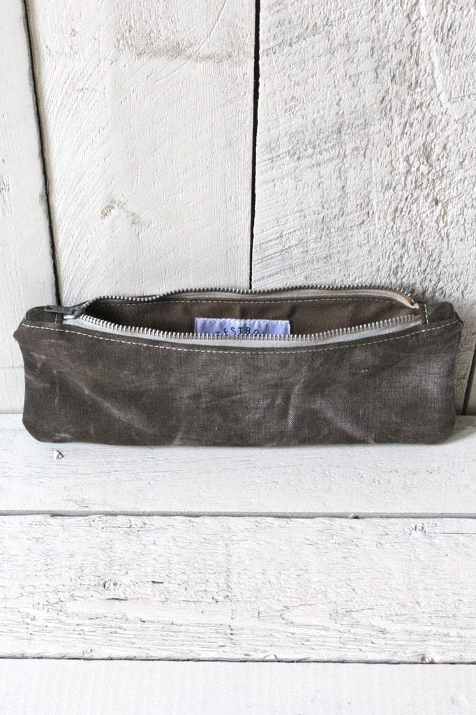 1940's era Black Canvas Utility Pouch