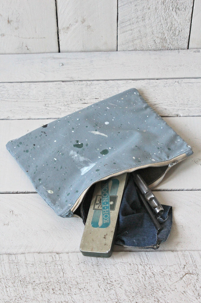 Painter's Drop Cloth Utility Pouch (Limited Edition)