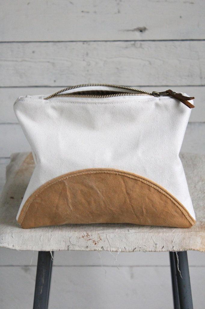 Printed Canvas Utility Pouch