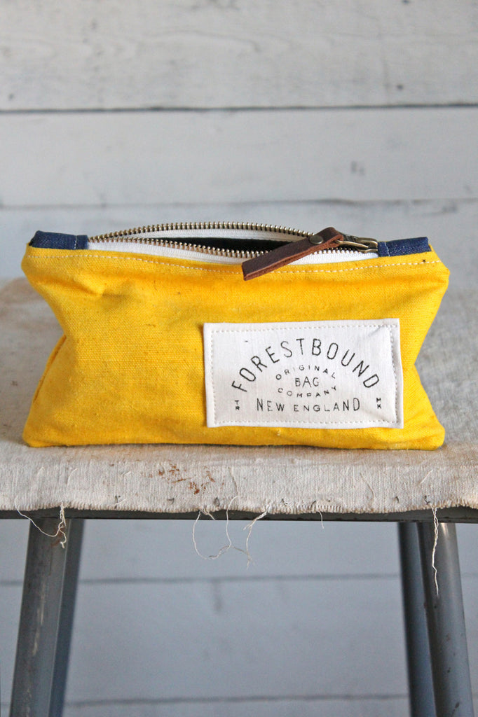 1940's era Newspaper Bag Utility Pouch