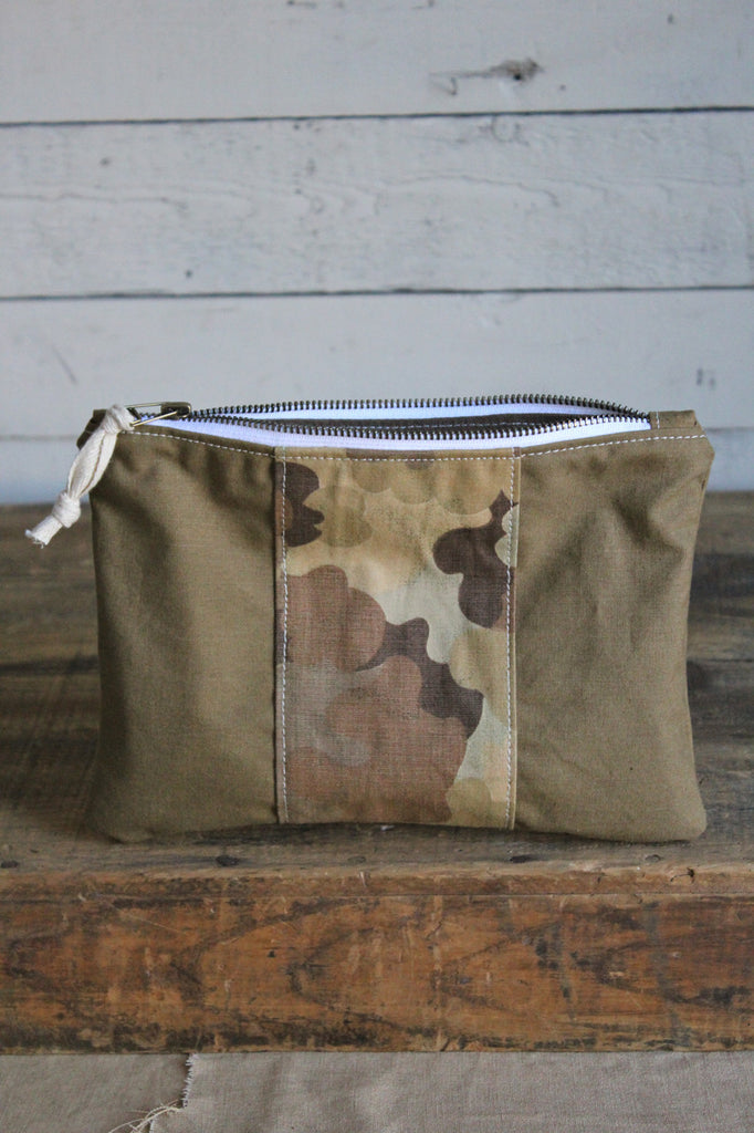 RAFFLE TICKET - Canvas & Camo Utility Pouch
