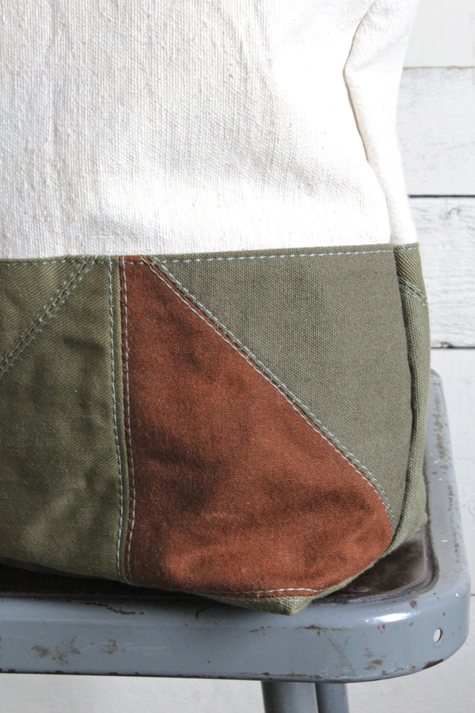 WWII era Quilted Tote Bag