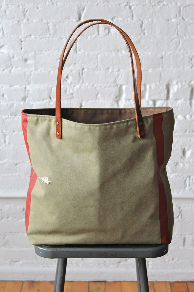 1950's era Mail Sack Tote Bag