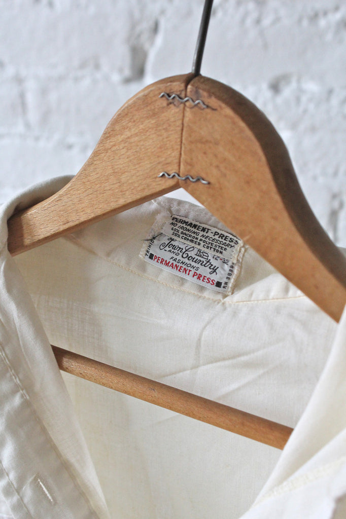Perfect White Button Down
