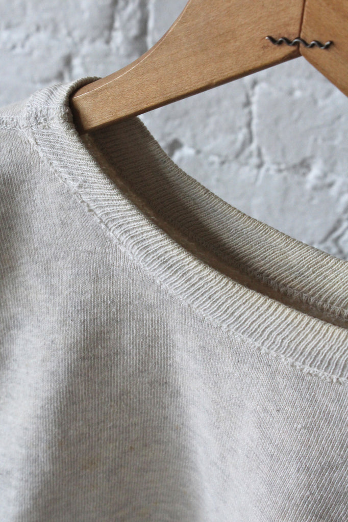 Light Grey Crew Neck Sweatshirt