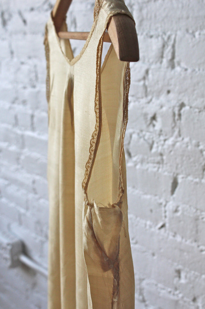 1920s Silk House Dress