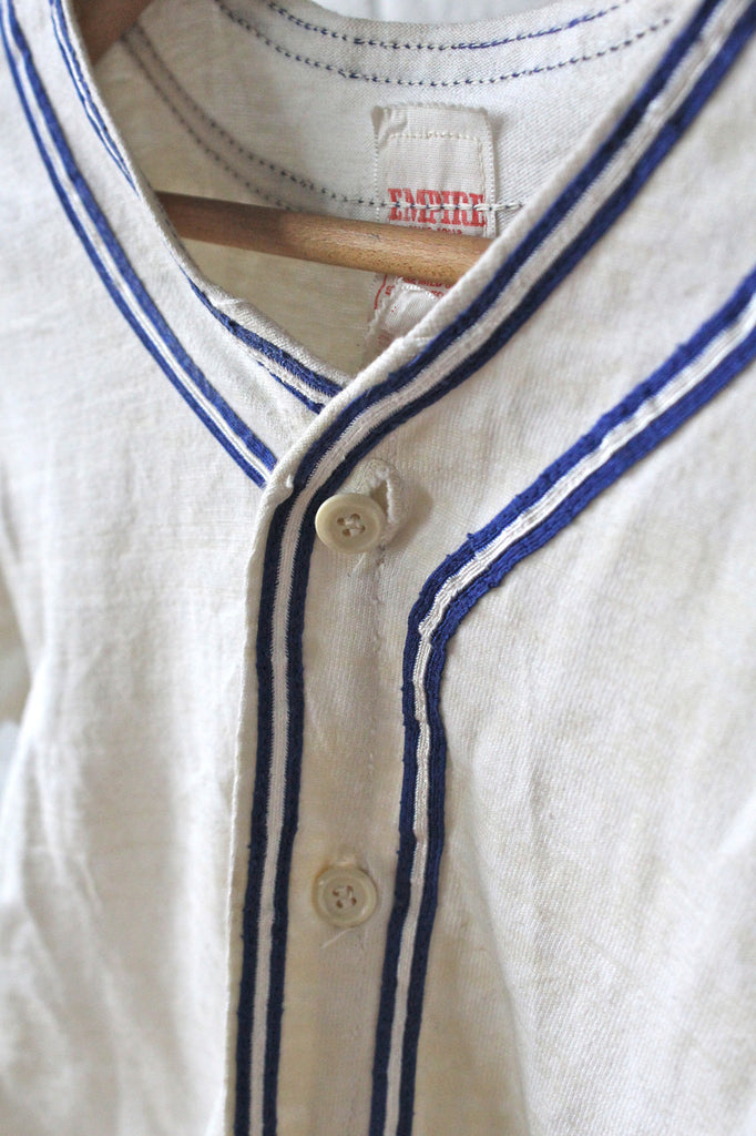 1940s Baseball Uniform Top