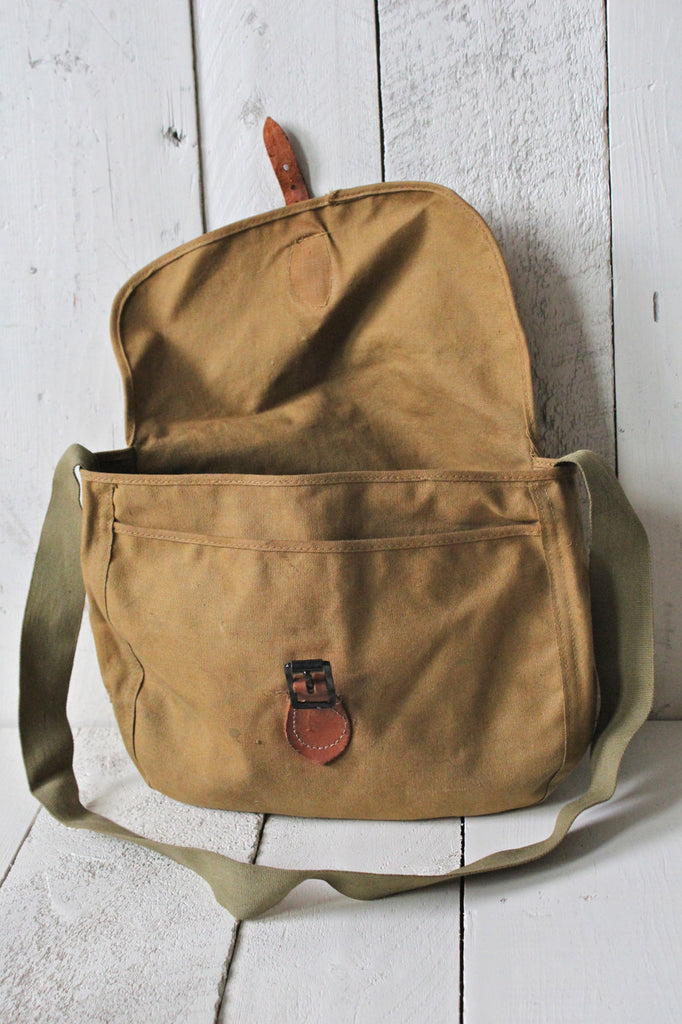 Canvas Fishing Bag Forestbound