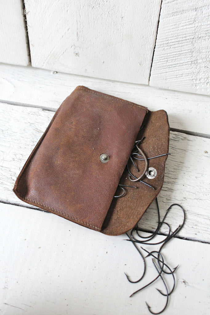 1940's era Leather Pouch