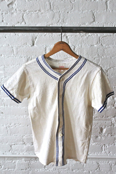 1940s Baseball Uniform Top Forestbound