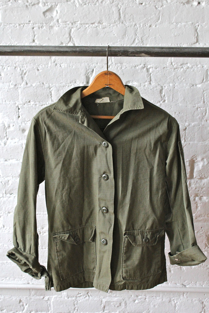 Vietnam era Women's Utility Shirt
