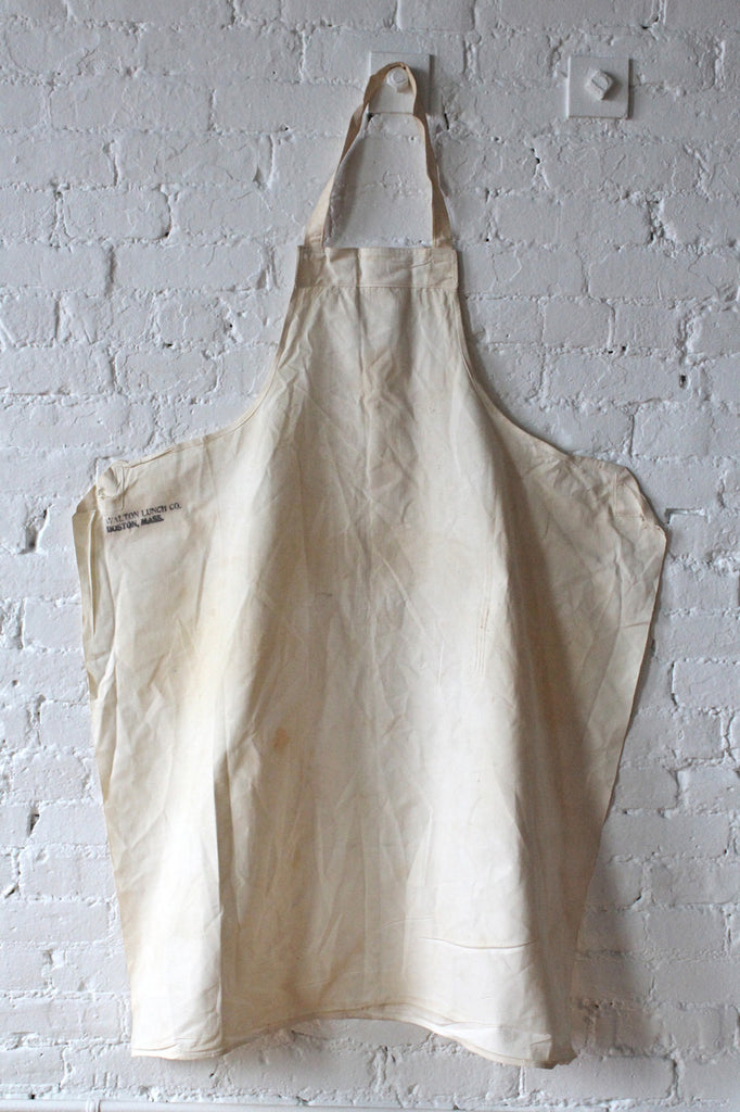 Early 1900's Walton's Lunch Co. Chef's Apron (No.2)
