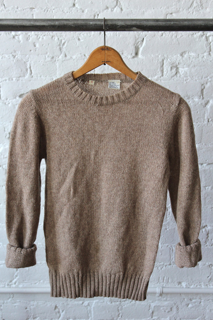 Cozy Wool Blend Sweater