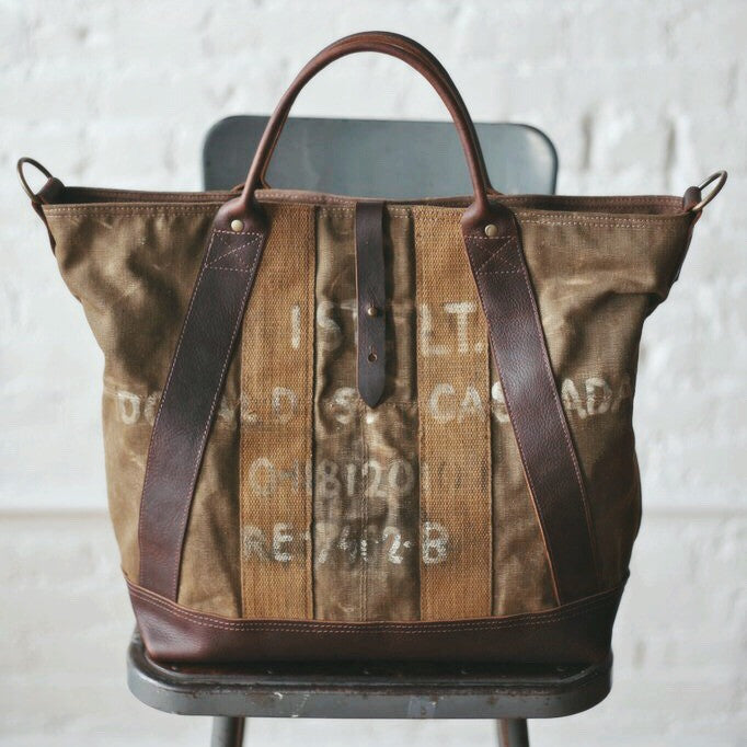 Discover One of a Kind Bags Made from Historic Textiles
