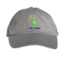 Load image into Gallery viewer, Grey Hat (Embroidered)