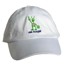 Load image into Gallery viewer, White Hat (Embroidered)