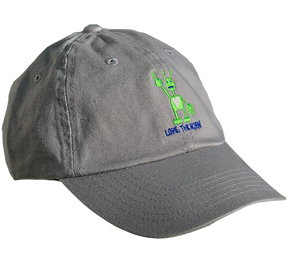 Grey Hat (Embroidered)